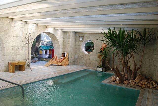 Visit ischia hotel villa flavio - Piscina interna casa ...