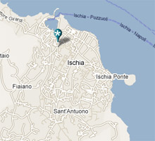 mappa Aenaria Beauty Center Ischia